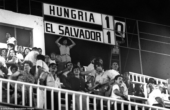 Hungria vs El Salvador