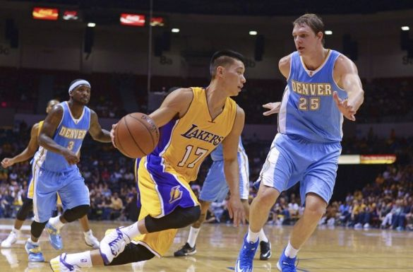 Jeremy Lin, Los Angeles Lakers