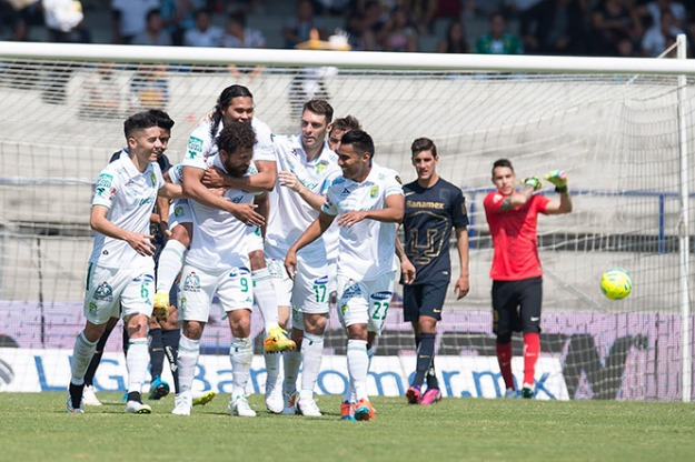 Pumas 1-3 León
