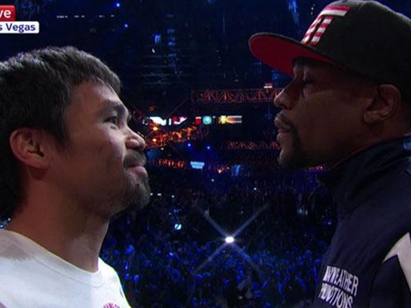 Floyd vs Manny