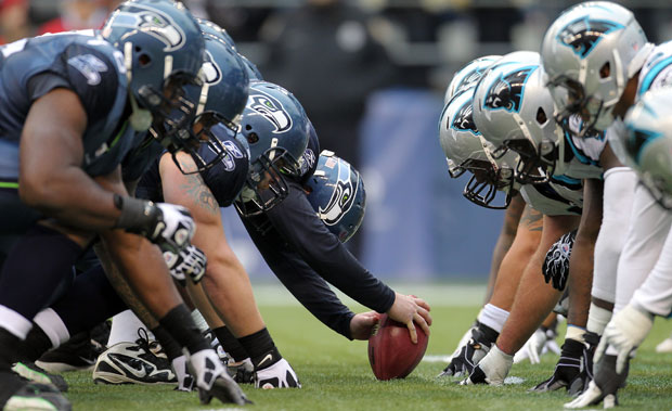 Panthers Seahawks Football