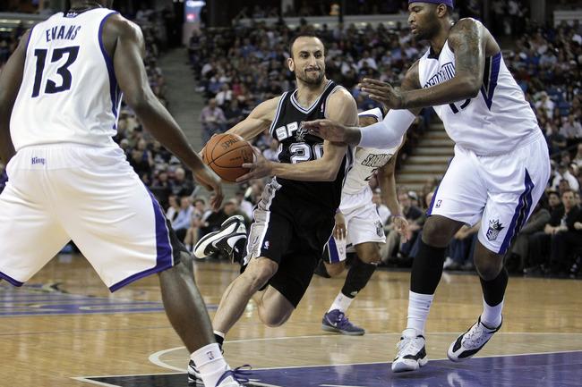 Manu Ginóbili, autor del mejor movimiento en la historia de la NBA