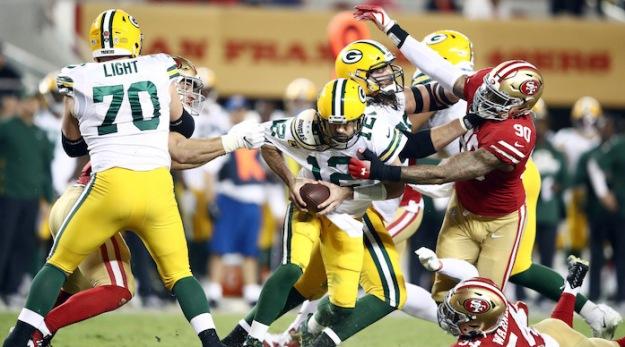 Green Bay Packers vSan Francisco 49ers